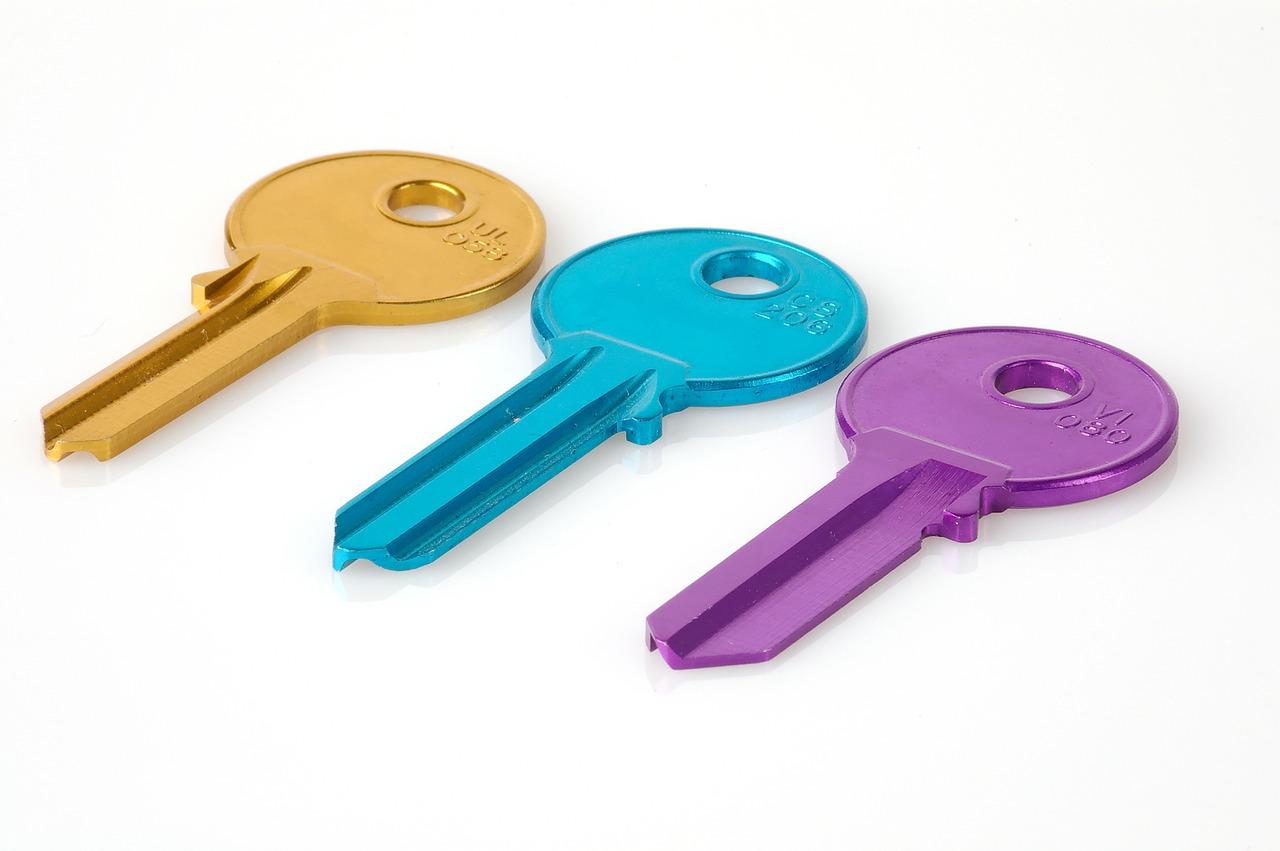 keys, ключи