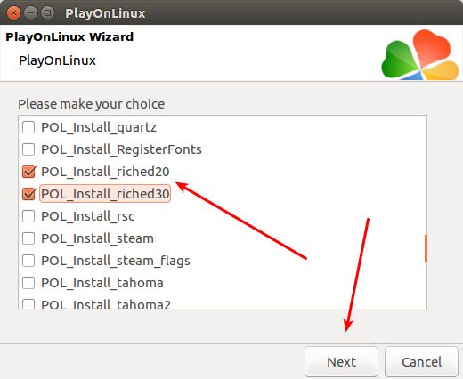 PlayOnLinux advego plagiatus 10