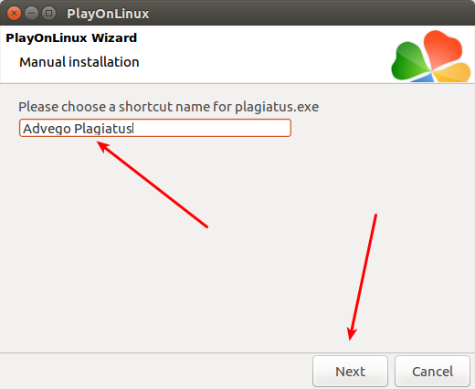 PlayOnLinux advego plagiatus 13