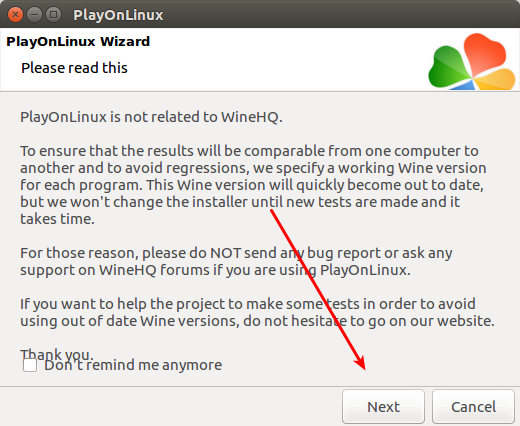 PlayOnLinux advego plagiatus 4
