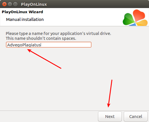 PlayOnLinux advego plagiatus 7